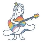 rainbow guiter girl ( minecosmo )