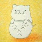 カワウそ@い!出窓 ( sleeping_otter )