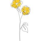 hana⚘ ( flower_illustagram )
