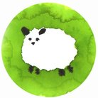 牧場の羊(ありさ) ( kerikeri_sougen )